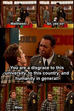 """...and humanity in general!"" Boy Meets World"