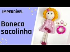 IMPERDÍVEL !!! ▶VOCÊ VAI AMAR FAZER ESSA BONECA SACOLINHA! - YouTube Crochet Cow, Crochet Hats, Gift Wraping, Baby Crafts, Art Activities, Creative Gifts, Sewing Patterns, Projects To Try, Crafty