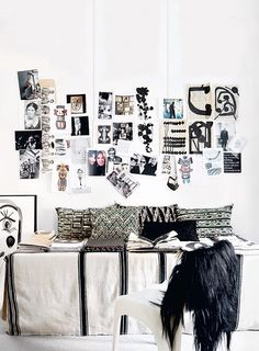 interiors, interior design, home decor, decorating ideas, black and white rooms