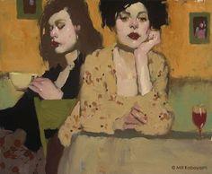 Biografía del pintor figurativo estadounidense Milt Kobayashi