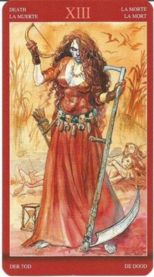 Stacey Carroll's photo. Tarot of Sexual Magic - Death card