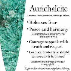 Aurichalcite crystal meaning