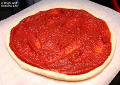 The Best Pizza Sauce.  This one is yummy!