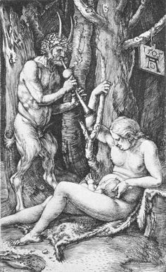 satyr family by Albrecht Dürer