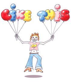 Como dibujar letras con forma de globos. Paso a paso con imágenes