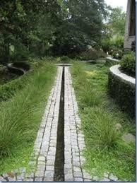 Afbeeldingsresultaat voor waterkanaal in de tuin