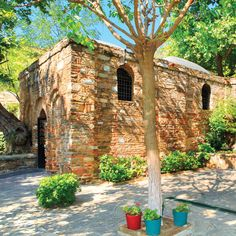 The Ephesus Home. The house St. John took Mary to after the Crucifixion to protect her.  I was here!  It was so exciting.  I also saw where St. Paul preached to the Ephesians.