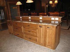 High Quality Rustic Birch Praline Kitchen Cabinets Images | Rustic Natural Birch Kitchen    Medium Stain