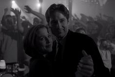 The X-Files' David Duchovny and Gillian Anderson Recall Their Favorite Mulder-Scully Moment