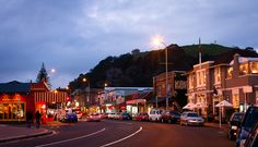 Mt Eden Village, Auckland at Dusk. Long White Cloud, Staff Room, Waiheke Island, Auckland New Zealand, My Family History, That Way, Kiwi, Dusk, South Africa