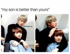I don't know whether I want to be jungkook or jin