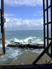 Window to the world.  San Jaun Puerto Rico.  What a beautiful place.