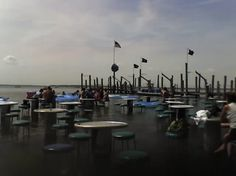 Ocean City, Maryland Seacrets Lounge and outdoor bar...best place ever to hang out.
