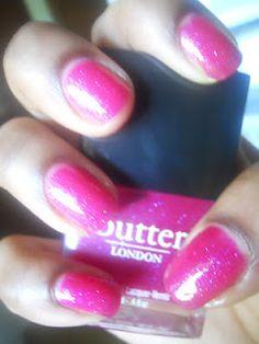 Butter London's Disco Ball nail polish