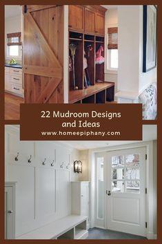 See 22 beautiful mudrooms #homedesign #mudroom