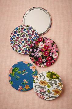 Color-Me-Floral Compact Mirror from BHLDN / Wedding Party Gift
