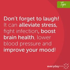 When a friend or loved one's emotional health is suffering, you can help her beat the blues. Learn about mood boosters that help you show your support. Witty Comments, Laughter The Best Medicine, Health Pictures, Mental And Emotional Health, Lower Blood Pressure, Brain Health, Great Words, Sarcastic Humor, Weight Loss Motivation