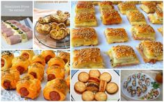 6 recetas de aperitivos para sorprender Party Snacks, Appetizers For Party, Savory Snacks, Snack Recipes, Aperitivos Finger Food, Good Food, Yummy Food, Christmas Appetizers, Healthy Cooking
