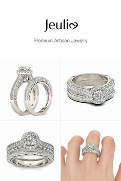 16c599208c4c63 24 Best Julia rings images in 2018 | Silver Rings, Rings, Sterling ...