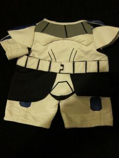 Build A Bear BABW Star Wars Stormtrooper Storm Trooper Outfit Costume | eBay