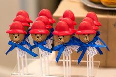 Paddington pops from a Paddington Bear Birthday Party on Kara's Party Ideas | KarasPartyIdeas.com (10)