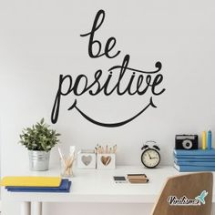 Vinilo Decorativo: Be Positive Dental, Home Office, Ely, Silhouette, Home Decor, Coastal Homes, Offices, Vinyls, Murals