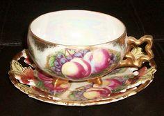 Vintage Tea Cup And Saucer Set
