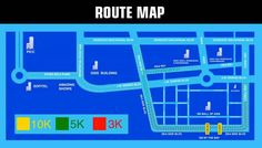 The updated DC Superheroe All Star Fun Run race Route Map. Shows, Amazing, All Star, Dc Comics, Mall, Asia, Running, Ph, Colors