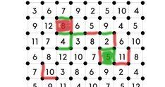 Kaksi koukuttavaa noppapeliä, joissa harjoitellaan lukumäärän ja numeron vastaavuutta sekä yhteenlaskua.