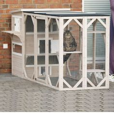 Alternate Image 4 For Trixie Natura Xxl Wooden Outdoor Cat Retreat In Grey Outdoor Cats Outdoor Cat House Cat House Diy
