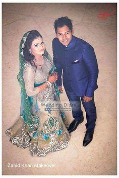 Bangladeshi bride#reception ceremony attire#zahid khan makeover