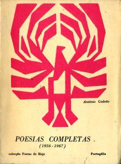 Poesias Completas - António Gedeão | Capa de João da Câmara Leme
