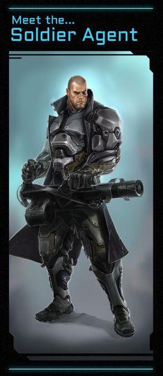 Satellite Reign- Soldier Agent