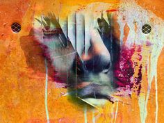 'The face at the wall' von Gabi Hampe bei artflakes.com als Poster oder Kunstdruck $23.56