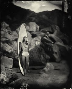 Love this one! Incredibly beautiful tintype photography by Giles Clement... Timeless, Amazing...