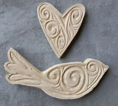 Clay stamps how-to