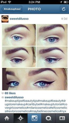 Is the winged eyeliner easy to do? | Beautylish