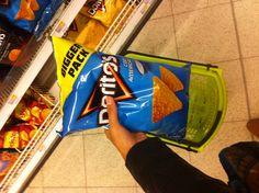 De Doritos in de plus gevonden!