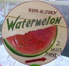 Watermelon Dishes | visit sunnysideofthesunporch blogspot com