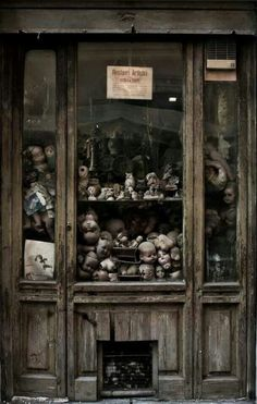 Abandoned Doll Store by candice
