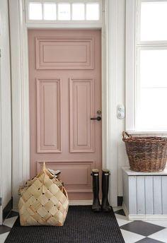 pink door pompeli home decor minimal scandinavian