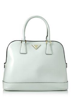 Prada Spazzolato Shopping Bag