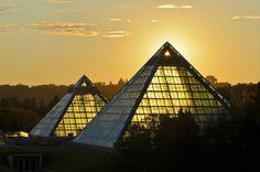Muttart Conservatory ,Edmonton, ALBERTA Canada.