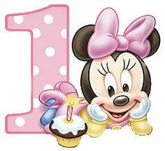 Minnie Baby – Kit Completo com molduras para convites, rótulos para guloseimas, lembrancinhas e imagens! | Fazendo a Nossa Festa