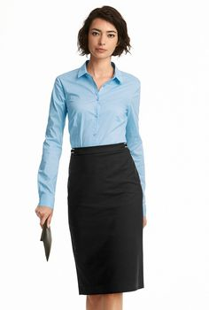 781d28eb30 Clean Sharp Suit Pencil Skirt