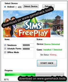 The Sims FreePlay Hack Tool