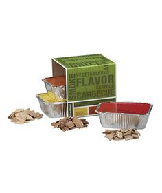 Smoke Flavor Wood Chip Sampler from Crate & Barrel #gifts