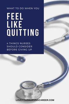 Nursing Blogs, Nursing School Tips, Nursing Profession, Nursing Career, Career Planner, Nurse Practitioner Gifts, Home Health Nurse, Np School, Feel Like Giving Up