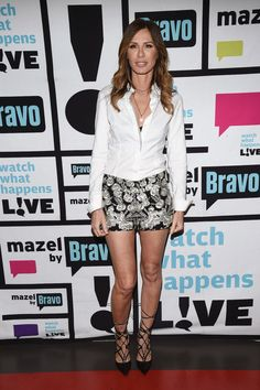 See what and who each of Andy's Clubhouse guests are wearing. Carole Radziwill, Tim Burton, Celebrity Crush, Superstar, Skater Skirt, Sequin Skirt, Mini Skirts, Shit Happens, June
