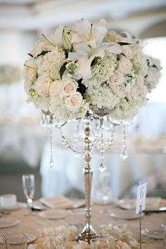 centerpiece by Butterfly floral
